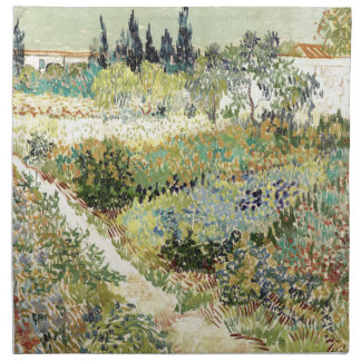 Vincent Van Gogh Garden at Arles Napkin