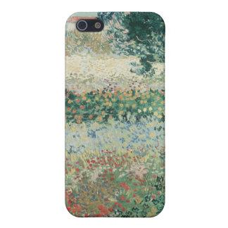Vincent van Gogh | Garden in Bloom, Arles, 1888 iPhone 5/5S Case