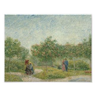 Vincent van Gogh - Garden in Montmarte Photo
