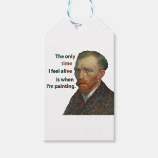 Vincent Van Gogh Gift Tags