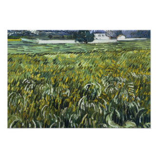 Vincent van Gogh - House at Auvers Poster