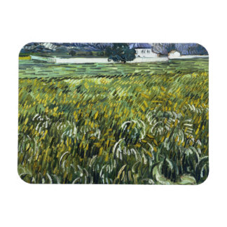 Vincent van Gogh - House at Auvers Rectangular Photo Magnet