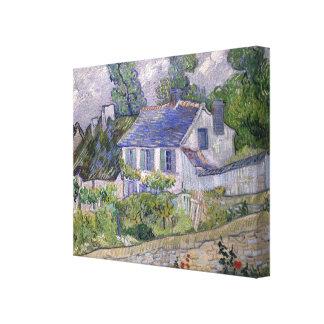 Vincent Van Gogh Houses At Auvers Canvas Print