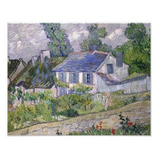 Vincent van Gogh - Houses at Auvers Photograph