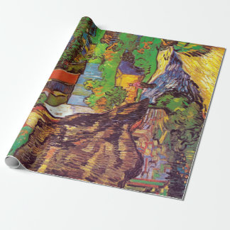 Vincent van Gogh Houses at Auvers Wrapping Paper