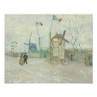 Vincent van Gogh - Impasse des Deux Freres Photographic Print