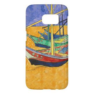Vincent Van Gogh Impressionist Boats