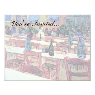 Vincent Van Gogh - Interior Of Restaurant Card