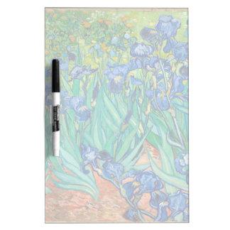 VINCENT VAN GOGH - Irises 1889 Dry Erase Board