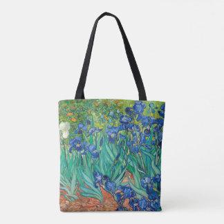 VINCENT VAN GOGH - Irises 1889 Tote Bag