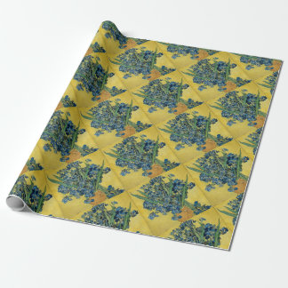 Vincent Van Gogh - Irises Art Work Wrapping Paper