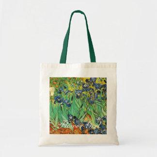 Vincent van Gogh,Irises Budget Tote Bag