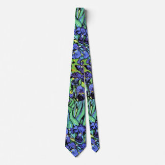 Vincent Van Gogh - Irises - Flower Lover Fine Art Tie