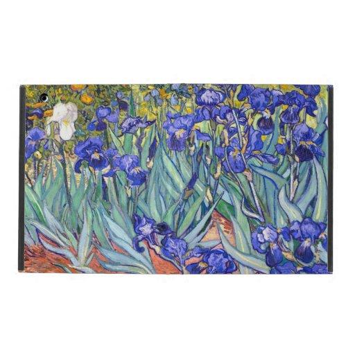 Vincent Van Gogh Irises iPad Folio Cases