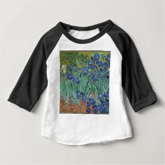 Vincent Van Gogh Irises Painting Flowers Art Work Baby T-Shirt