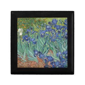 Vincent Van Gogh Irises Painting Flowers Art Work Gift Box