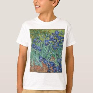 Vincent Van Gogh Irises Painting Flowers Art Work T-Shirt