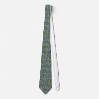Vincent Van Gogh Irises Painting Flowers Art Work Tie
