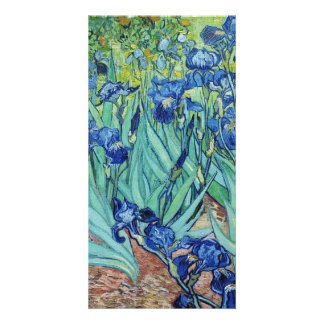 Vincent van Gogh, Irises. Personalised Photo Card