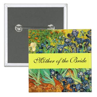 Vincent van Gogh Irises Pins