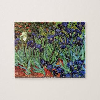 Vincent van Gogh - Irises puzzle