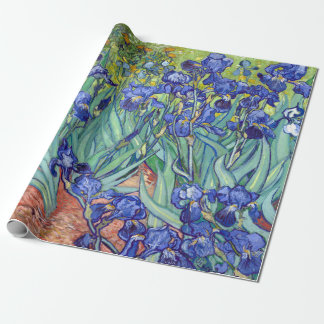 Vincent van Gogh Irises Wrapping Paper