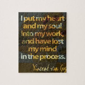 Vincent Van Gogh Jigsaw Puzzle