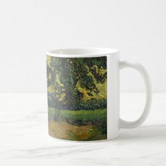 Vincent van Gogh - Landscape at Twilight Coffee Mug