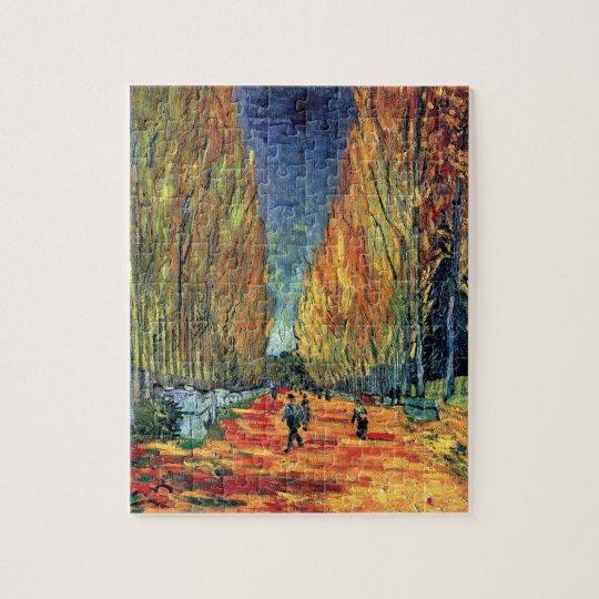Vincent Van Gogh - Les Alyscamps Jigsaw Puzzle