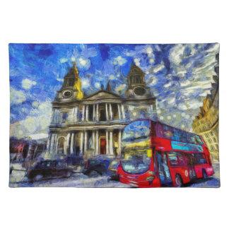 Vincent Van Gogh London Placemat