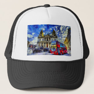 Vincent Van Gogh London Trucker Hat