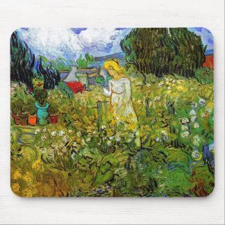 Vincent Van Gogh - Marguerite Gachet In The Garden Mouse Pad