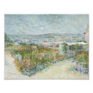 Vincent van Gogh - Montmartre: Behind the Moulin Photographic Print
