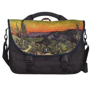 Vincent Van Gogh Moonlit Landscape Bags For Laptop