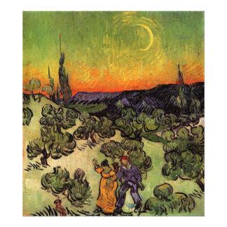 Vincent Van Gogh Moonlit Landscape Photo Art