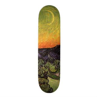 Vincent Van Gogh Moonlit Landscape Skateboard Decks