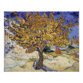 Vincent van Gogh | Mulberry Tree, 1889 Poster