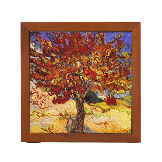 Vincent Van Gogh Mulberry Tree Fine Art Painting Desk Organiser