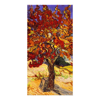 Vincent Van Gogh Mulberry Tree Fine Art Painting Photo Greeting Card
