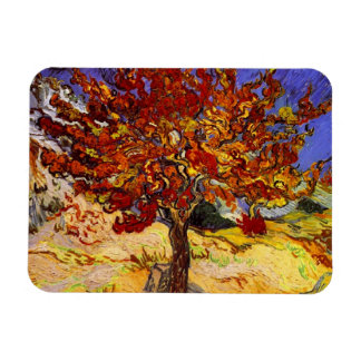 Vincent Van Gogh Mulberry Tree Fine Art Painting Rectangular Photo Magnet