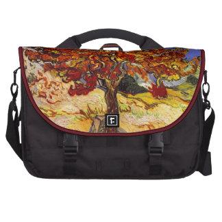 Vincent Van Gogh Mulberry Tree Laptop Messenger Bag