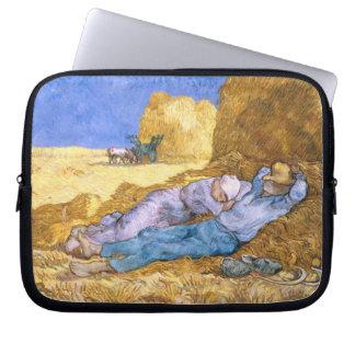 Vincent van Gogh | Noon, The Siesta, after Millet Laptop Sleeve