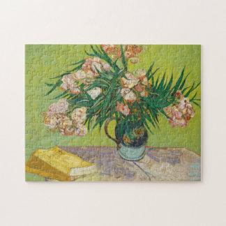 Vincent Van Gogh Oleanders Painting Jigsaw Puzzle