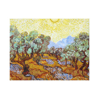 Vincent van Gogh Olive Trees Canvas Print