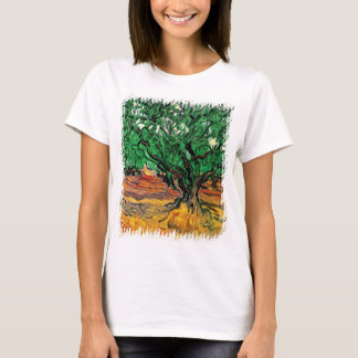 Vincent Van Gogh - Olive Trees Fine Art T-Shirt