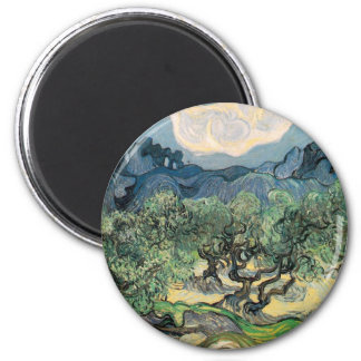Vincent Van Gogh - Olive Trees with the Alpilles Magnet