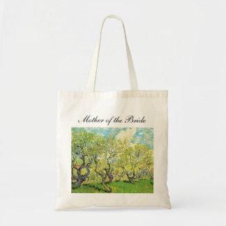 Vincent van Gogh,Orchard in Blossom Budget Tote Bag
