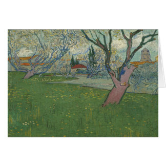 Vincent van Gogh - Orchards in Blossom Card