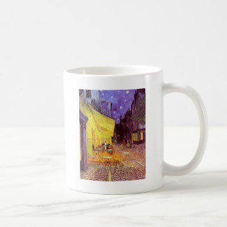 Vincent Van Gogh Paintings: Van Gogh Cafe Basic White Mug