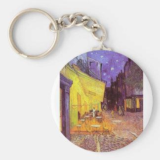 Vincent Van Gogh Paintings: Van Gogh Cafe Key Ring
